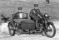 1920' Harley Davidson Police Motorcycle