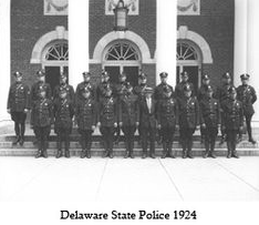 Delaware State Police 1924 Graduation Class