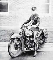 1930's Motorcycle Officer