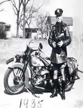 1930 Motorcycle Officer