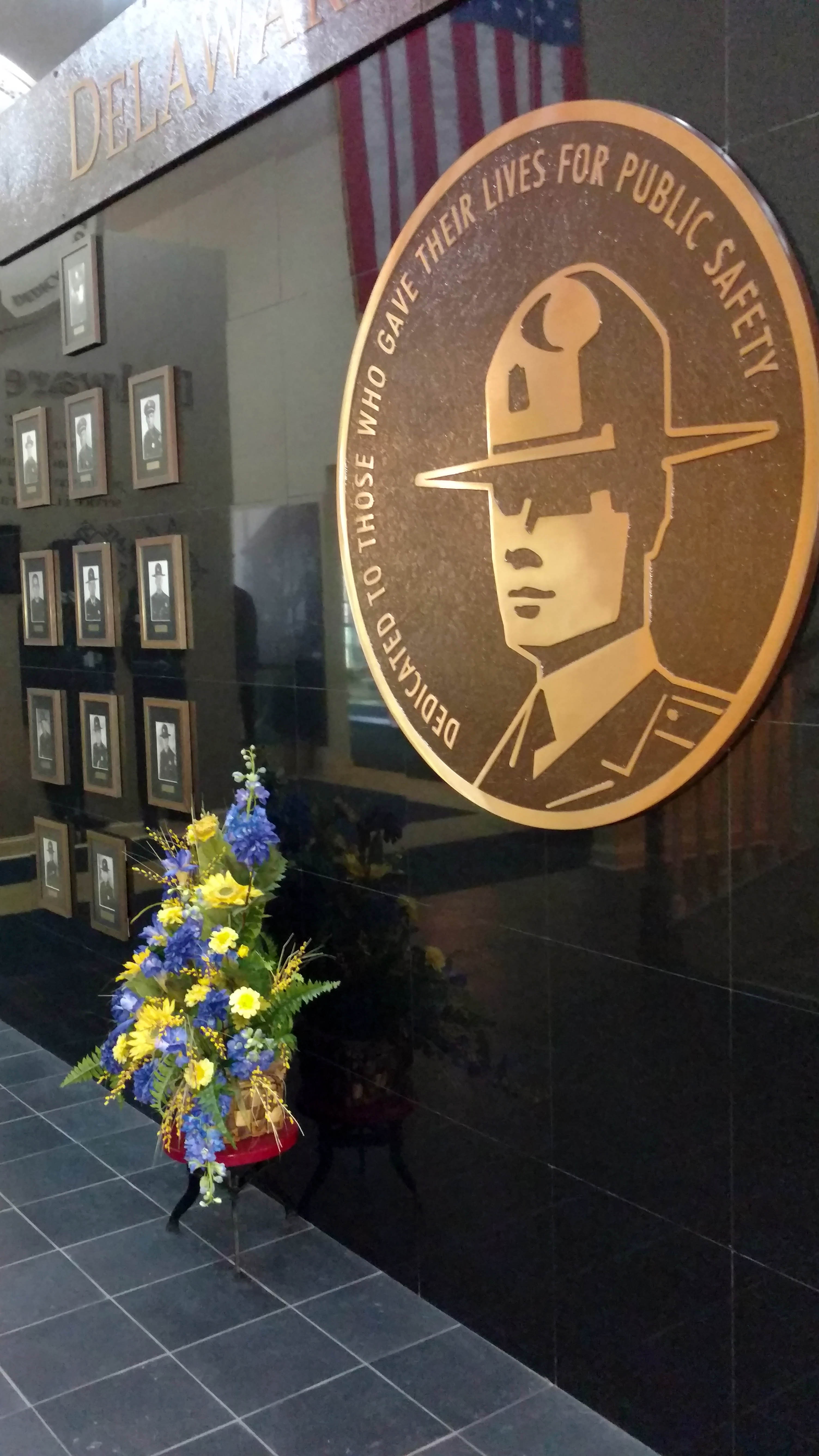 Delaware State Police Memorial Wall
